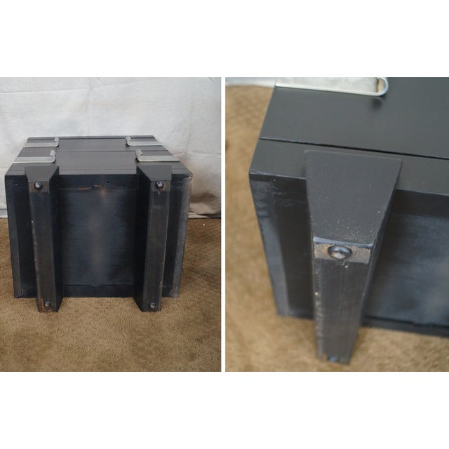 James Mont-Style Nightstands- A Pair - Image 5 of 10