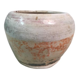 Studio Stone Ware Vase by Tharp For Sale