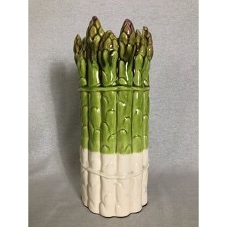 Vintage Hand Painted Ceramic Asparagus Kitchen Decor Accessories - Set of 3 Preview