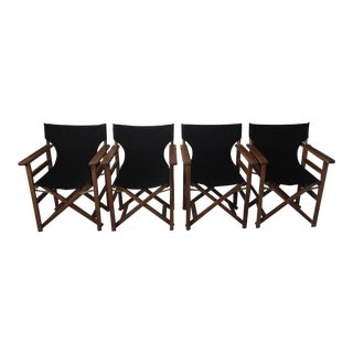 Coral Coast Outdoor Director's Chairs - Set of 4 For Sale