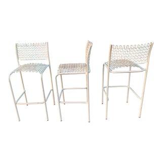 3 David Rowland for Thornet Soft Tek Patio Chairs For Sale
