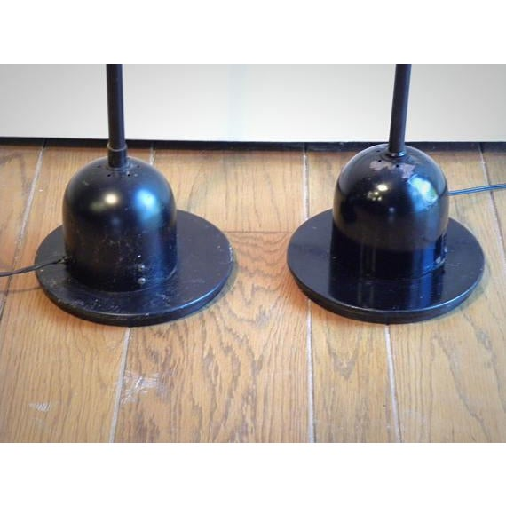 Vintage Modern Electrix Halogen Reading Library Floor Lamps - A Pair For Sale In New York - Image 6 of 10