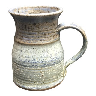 Spotted Ceramic Three Tone Glaze Jug For Sale