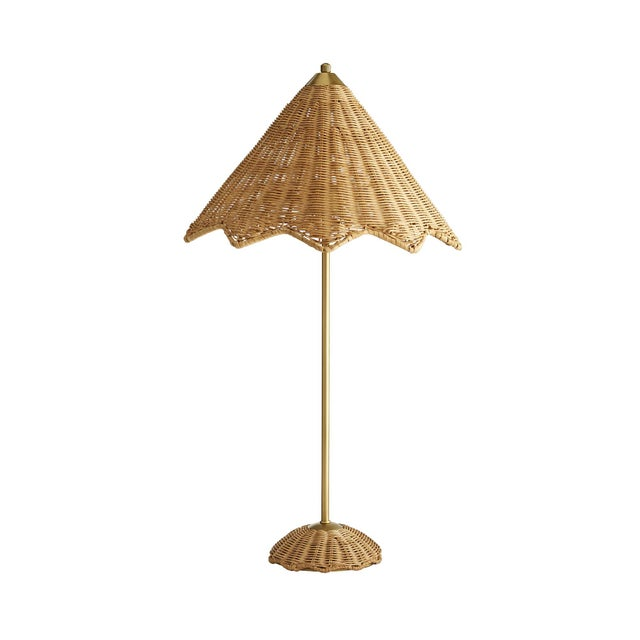 Not Yet Made - Made To Order Celerie Kemble for Arteriors Parasol Lamp For Sale - Image 5 of 6