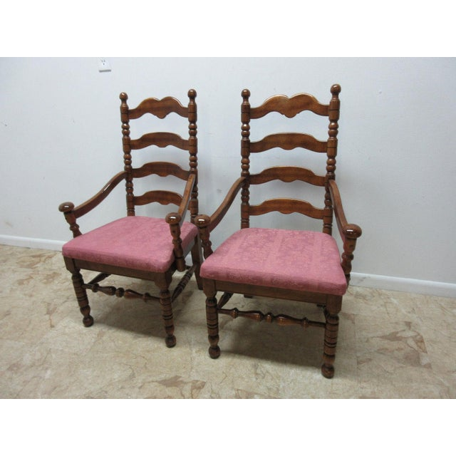 "Measurements ( l x w x h) 26 x 22 x 44. Great shape. Tight and sturdy.. Minor wear and a few scratches. Seat height 19""..."