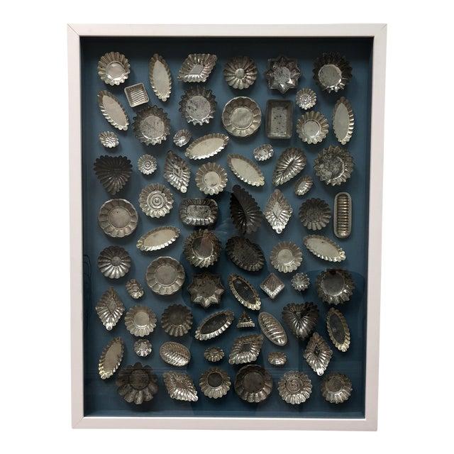 Framed Collection of Tart Molds For Sale