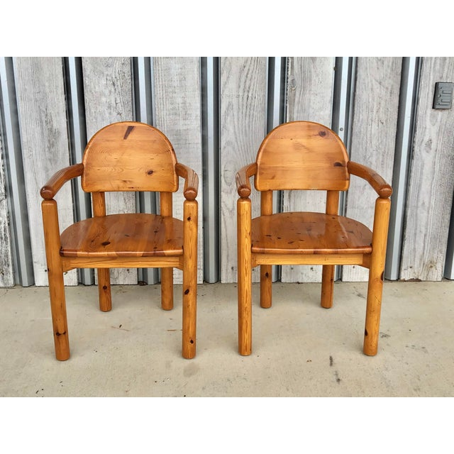 1970's Armchairs by Rainer Daumiller For Sale In Chicago - Image 6 of 6