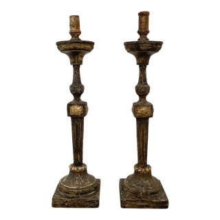 Neoclassical Candlesticks, Italy Circa 1800 - a Pair For Sale