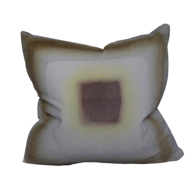 Hand-Dyed Velvet Pillow by Daisy Sullivant IV For Sale