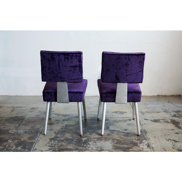 General Fireproofing Co. Purple Chairs - A Pair - Image 5 of 6