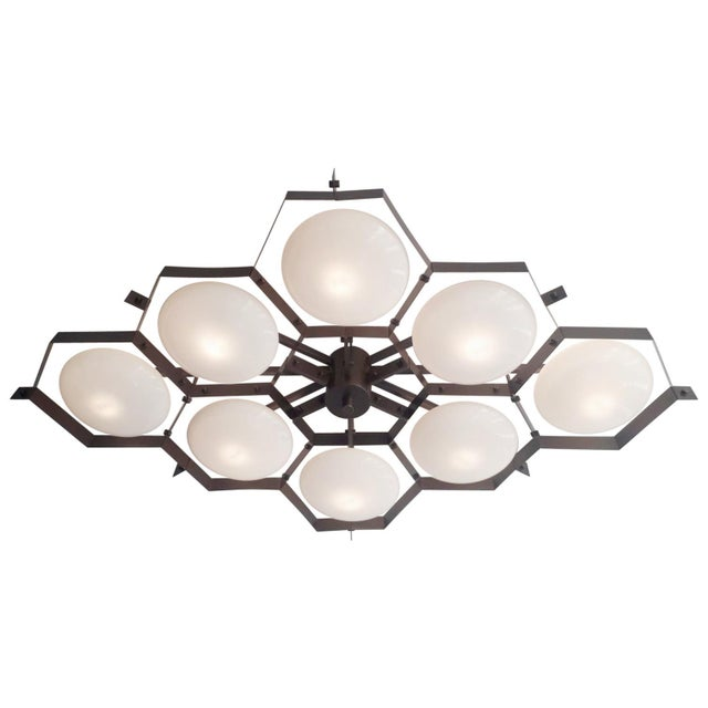 Beehive Flush Mount by Fabio Ltd For Sale - Image 11 of 11