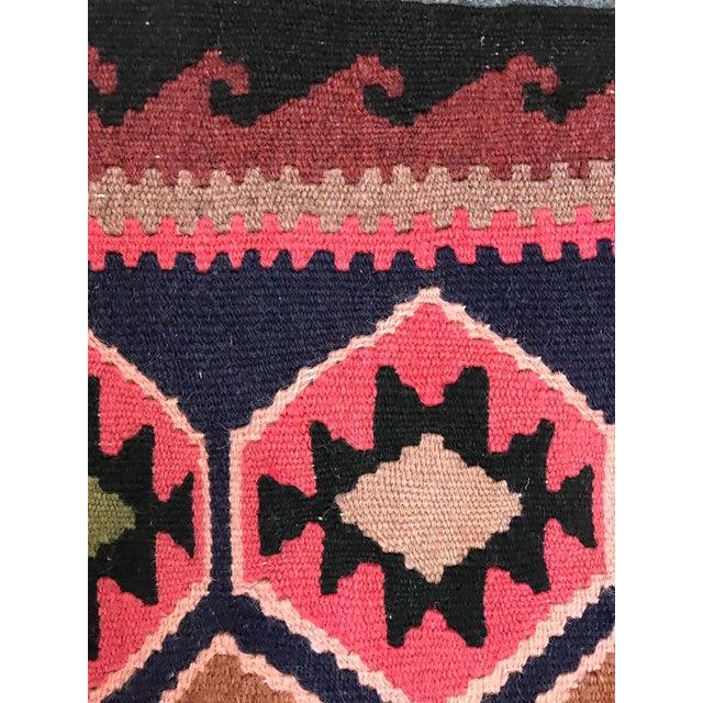 1990s 1990s Vintage Handmade East Turkey Kilim Rug- 3′4″ × 5′8″ For Sale - Image 5 of 8