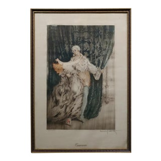 "1920s ""Casanova"" Original Louis Icart Lithograph For Sale"