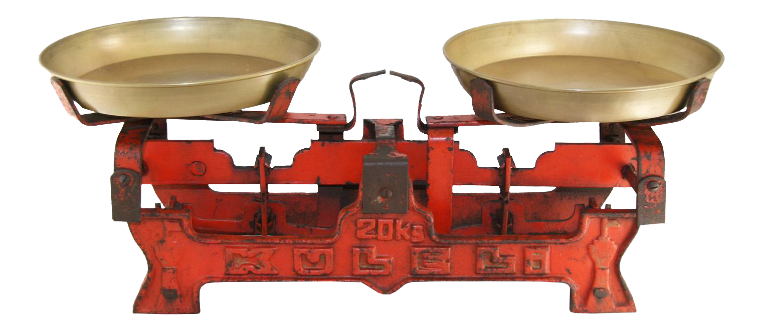 kitchen accessories  vintage red iron table scale vintage  u0026 used kitchen accessories   chairish  rh   chairish com