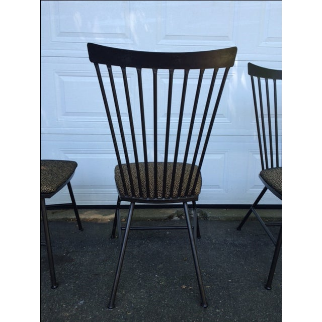 1950's Mid-Century Metal Dining Chairs - 6 - Image 3 of 11