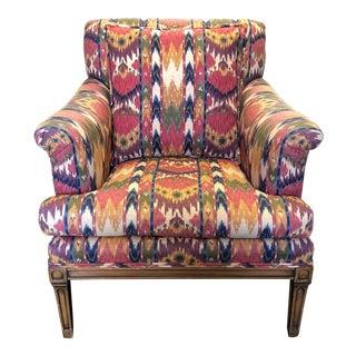 Contemporary Custom Colorful Armchair