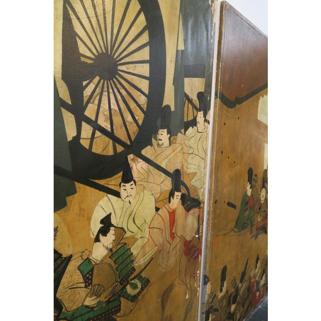 Decorative Chinese Wall Panels - A Pair - Image 3 of 6