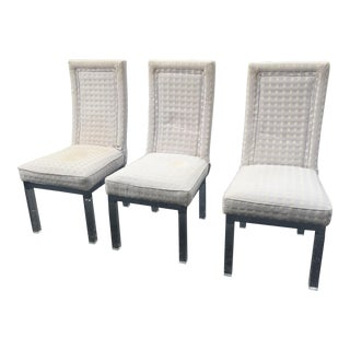 1970s Vintage Charles Hollis Jones Style Dining Chairs- Set of 3 For Sale