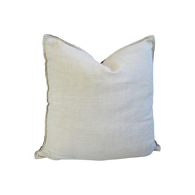 Souvenir de Paris Silk Scarf Pillow - Image 8 of 8