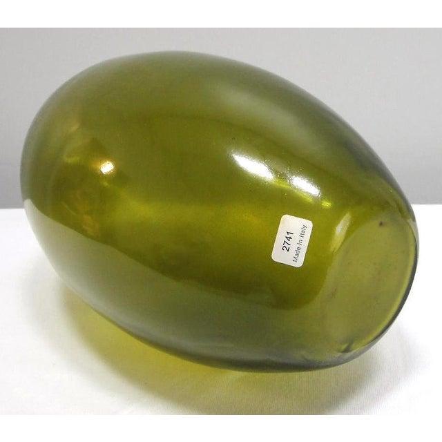 Glass Barbini Murano Glass Vase For Sale - Image 7 of 8