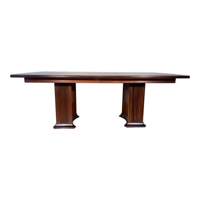 Henkel Harris Wooden Dining Table For Sale