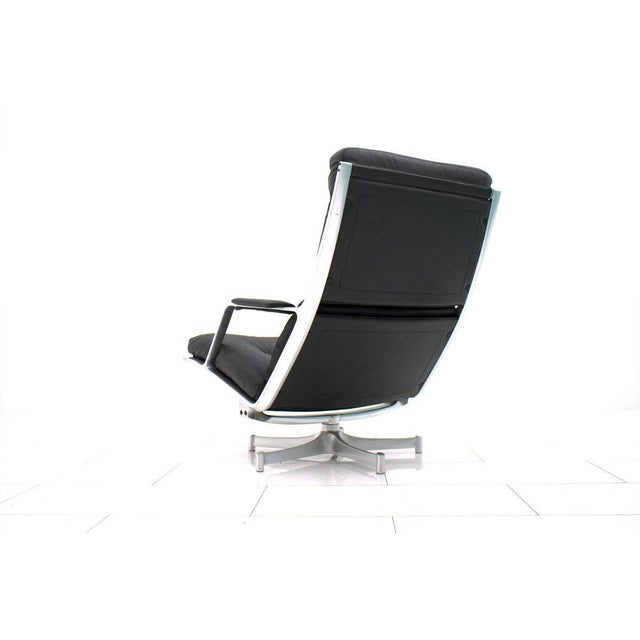 Metal Lounge Chair by Fabricius & Kastholm for Kill International Fk 85 For Sale - Image 7 of 8