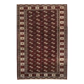 Persian Burgundy Baluch Rug - 8′ × 12′