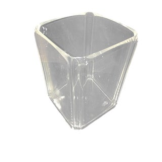 Vintage Lucite Bathroom Wastebasket