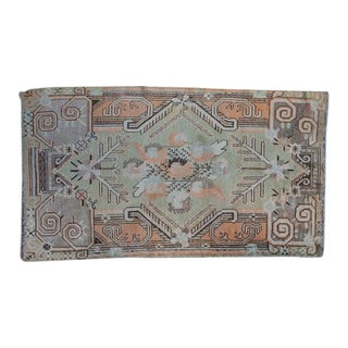 Late 20th Century Vintage Oushak Rug- 8′8″ × 4′8″ For Sale