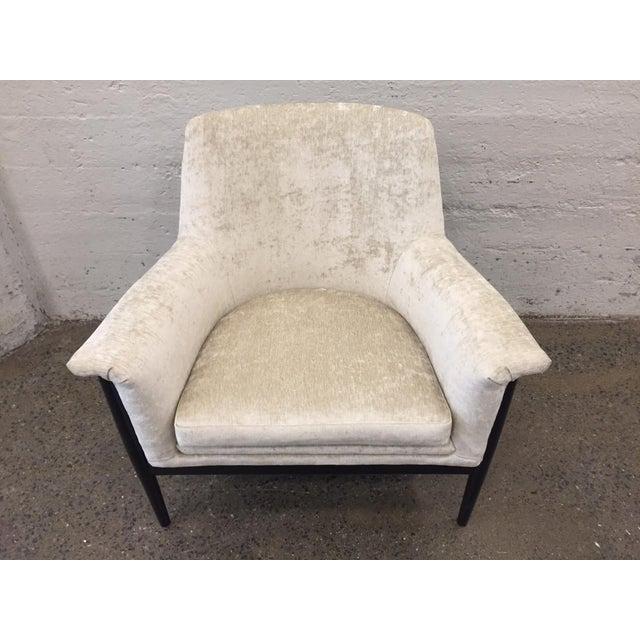 Pair of Danish Modern Lounge Chairs Ib Kofod Larsen - Image 5 of 7