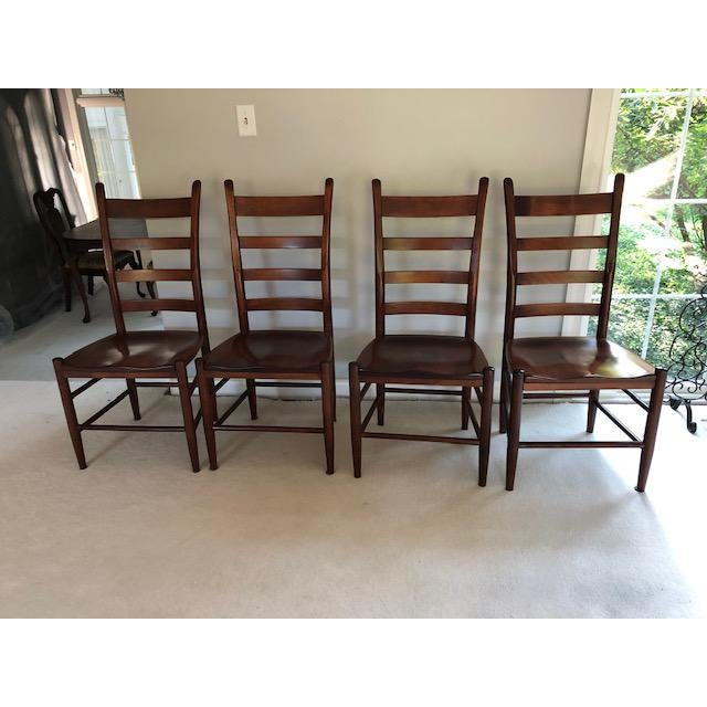 Nichols and Stone Side Chairs- Set of 4 For Sale - Image 11 of 11
