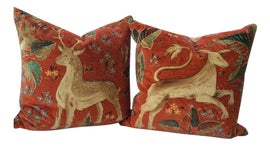 Image of Burnt Orange Pillows