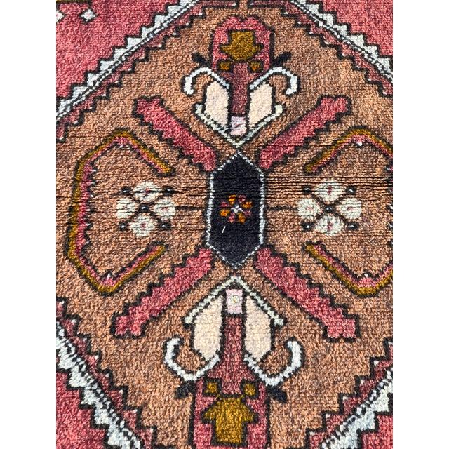Boho Chic Vintage Turkish Anatolian Rug - 3′10″ × 7′4″ For Sale - Image 3 of 11