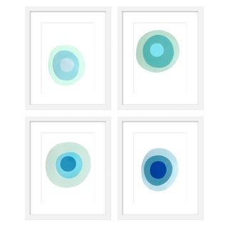 "Large ""Chalcedony, Set of 4"" Print by Neicy Frey, 38"" X 50"" For Sale"