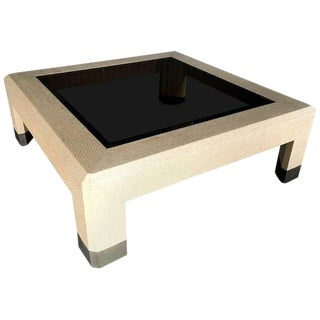 Harrison Van-Horn Table with Brass Sabots For Sale