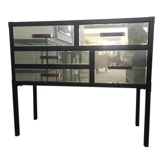 Uttermost- Larimore Mirrored Console Chest For Sale