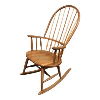 Asher & Benjamin Company Handcrafted Cherry Rocker For Sale