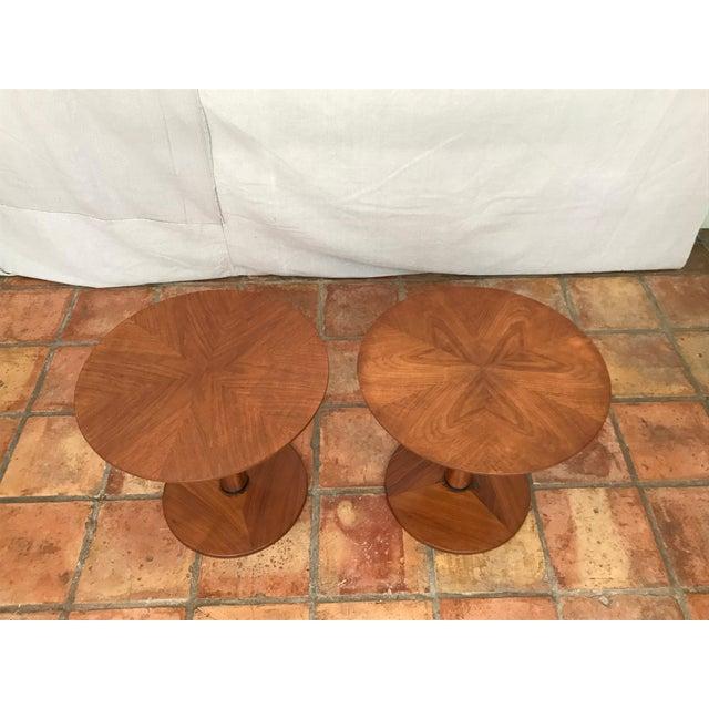 Kipp Stewart Walnut Side Table - Image 4 of 8