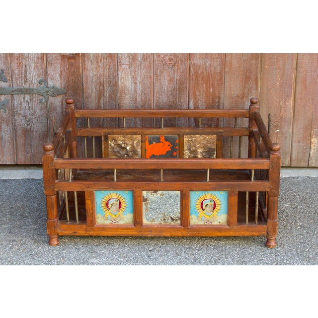 Late 19th Century Baby Cradle Swing Table For Sale - Image 5 of 6
