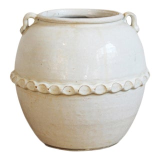 White Milk Ceramic Pottery For Sale
