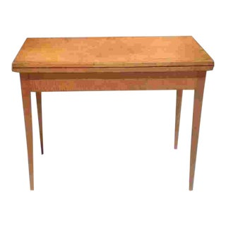C.1800 American Card Table For Sale