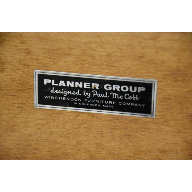 Paul McCobb Planner Group Headboards- a Pair For Sale - Image 9 of 10