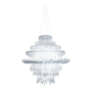 Sneeze A Chandelier in Transparent Resin by Jacopo Foggini For Sale