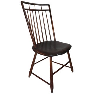 19th Century Bird Cage Windsor Chair From Pennsylvania For Sale