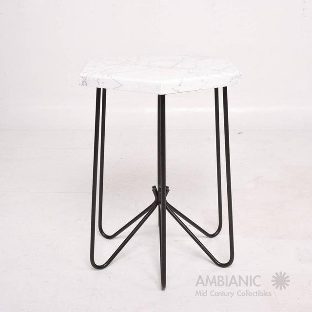Pair of Mid-Century Modern Side Tables For Sale In San Diego - Image 6 of 8