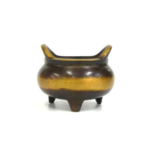 Chinese Bronze Incense Burner For Sale - Image 4 of 7
