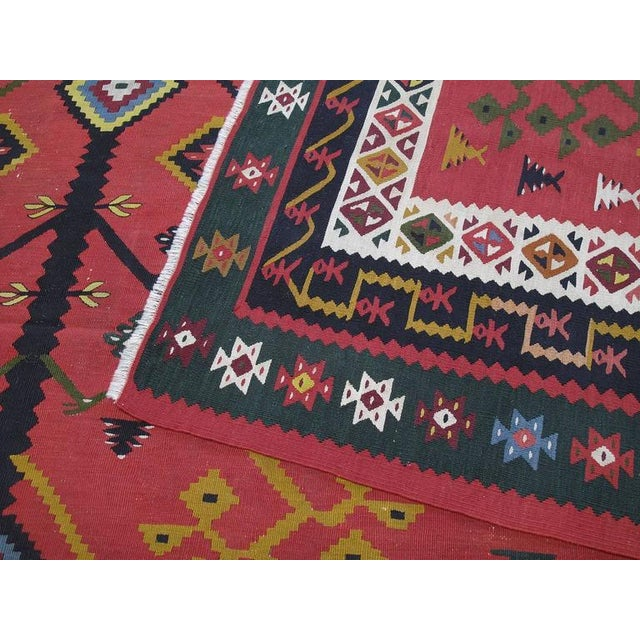 Antique Sharkoy Kilim - Image 9 of 10