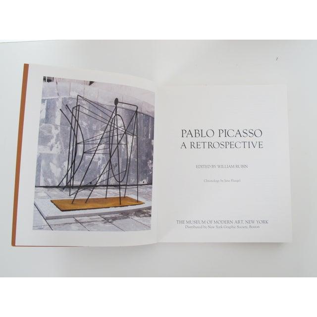 """Pablo Picasso: A Retrospective"" by William Rubin - Image 4 of 6"