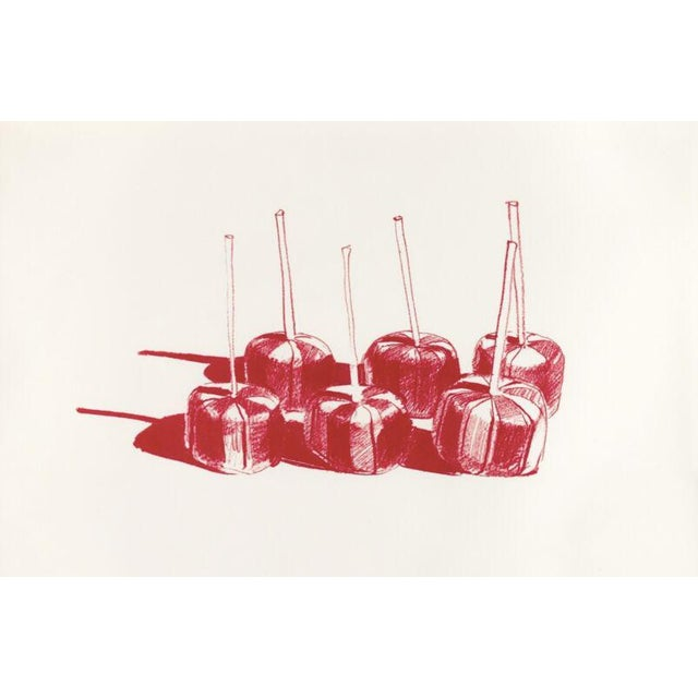 Suckers, State II lithograph by Wayne Thiebaud - Image 2 of 3