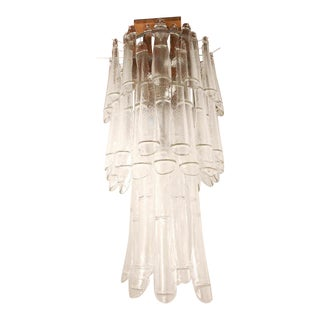 1960s Murano Chandelier by Barovier For Sale